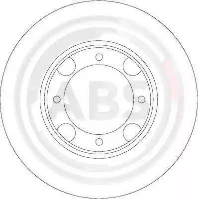 A.B.S. 16047 - Bremžu diski interparts.lv