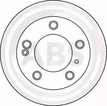 A.B.S. 16053 - Bremžu diski interparts.lv