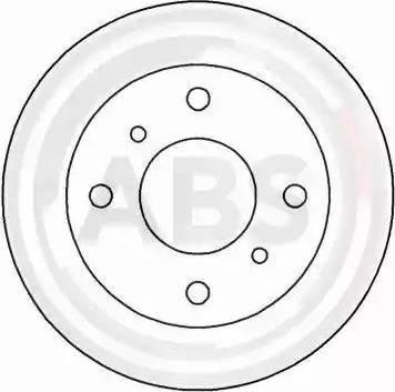 A.B.S. 16064 - Bremžu diski interparts.lv
