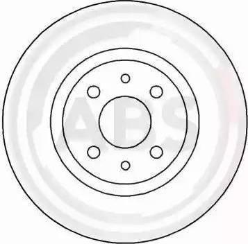 A.B.S. 16061 - Bremžu diski interparts.lv
