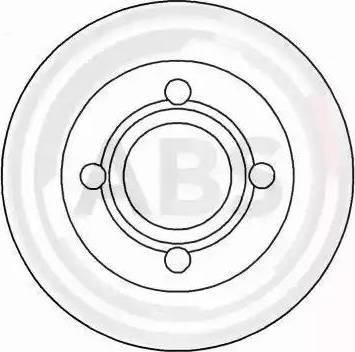 A.B.S. 16068 - Bremžu diski interparts.lv