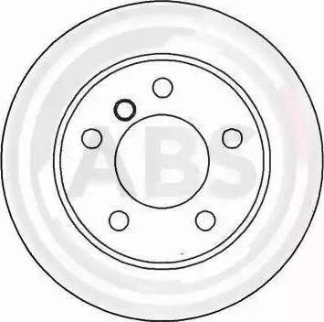 A.B.S. 16084 - Bremžu diski interparts.lv