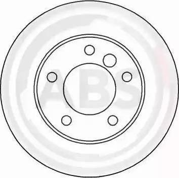 A.B.S. 16085 - Bremžu diski interparts.lv