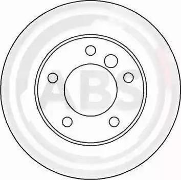 A.B.S. 16086 - Bremžu diski interparts.lv