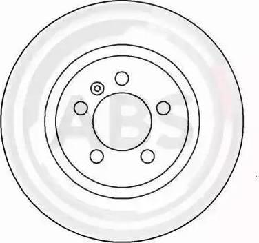 A.B.S. 16080 - Bremžu diski interparts.lv