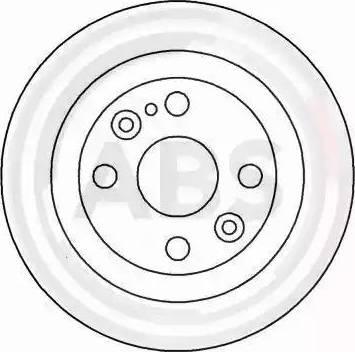 A.B.S. 16088 - Bremžu diski interparts.lv