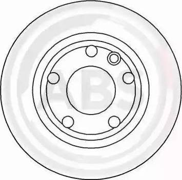 A.B.S. 16083 - Bremžu diski interparts.lv