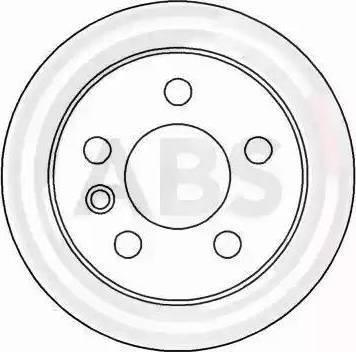A.B.S. 16082 - Bremžu diski interparts.lv