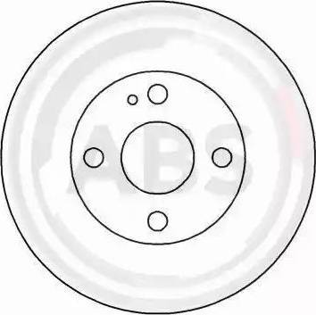 A.B.S. 16087 - Bremžu diski interparts.lv