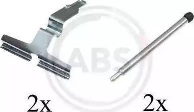 A.B.S. 1602Q - Piederumu komplekts, Disku bremžu uzlikas interparts.lv