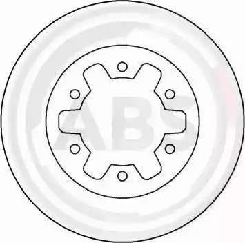A.B.S. 16078 - Bremžu diski interparts.lv