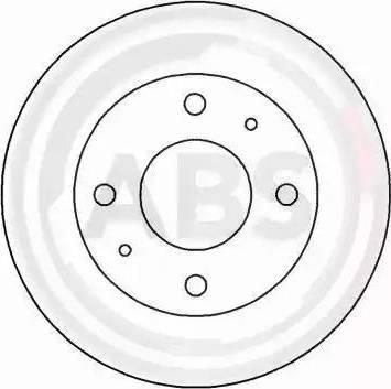 A.B.S. 16194 - Bremžu diski interparts.lv