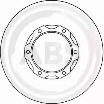 A.B.S. 16198 - Bremžu diski interparts.lv