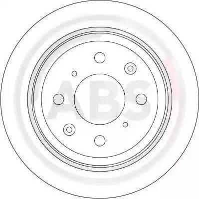 A.B.S. 16192 - Bremžu diski interparts.lv