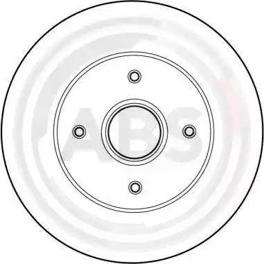A.B.S. 16149 - Bremžu diski interparts.lv