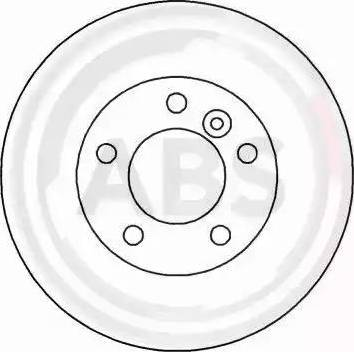 A.B.S. 16154 - Bremžu diski interparts.lv