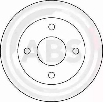A.B.S. 16156 - Bremžu diski interparts.lv