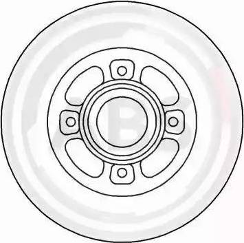 A.B.S. 16151 - Bremžu diski interparts.lv