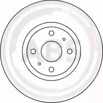 A.B.S. 16153 - Bremžu diski interparts.lv