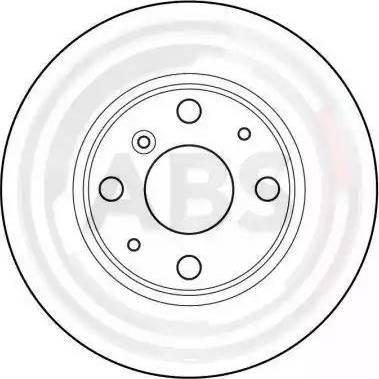 A.B.S. 16169 - Bremžu diski interparts.lv