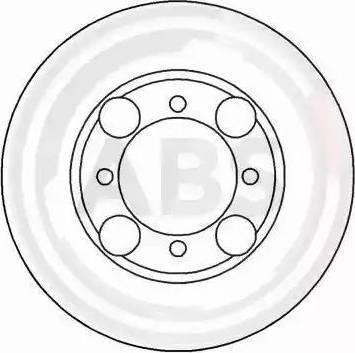 A.B.S. 16161 - Bremžu diski interparts.lv