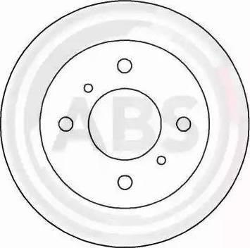 A.B.S. 16104 - Bremžu diski interparts.lv