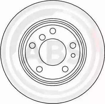 A.B.S. 16103 - Bremžu diski interparts.lv