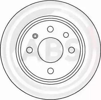 A.B.S. 16114 - Bremžu diski interparts.lv