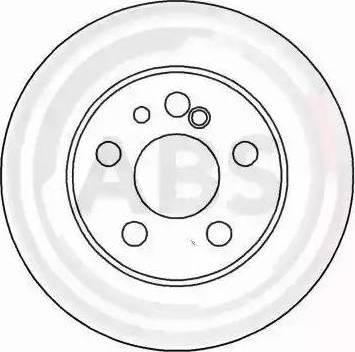 A.B.S. 16111 - Bremžu diski interparts.lv