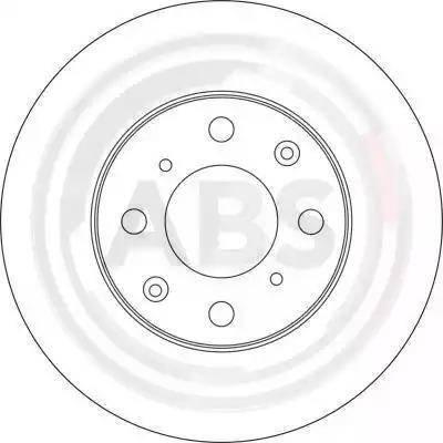 A.B.S. 16117 - Bremžu diski interparts.lv