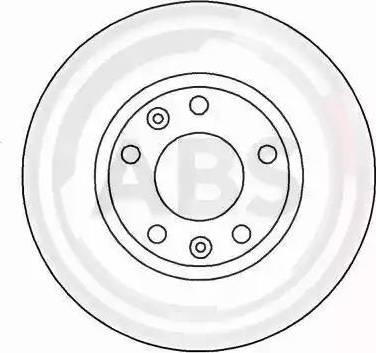 A.B.S. 16185 - Bremžu diski interparts.lv