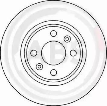 A.B.S. 16186 - Bremžu diski interparts.lv