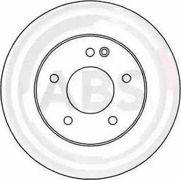 A.B.S. 16181 - Bremžu diski interparts.lv