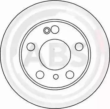 A.B.S. 16188 - Bremžu diski interparts.lv