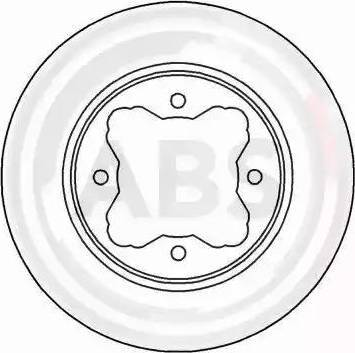 A.B.S. 16183 - Bremžu diski interparts.lv