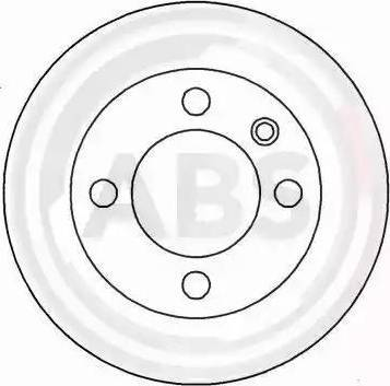 A.B.S. 16187 - Bremžu diski interparts.lv