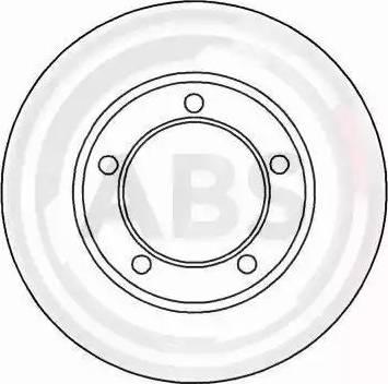 A.B.S. 16135 - Bremžu diski interparts.lv