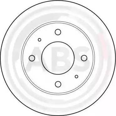 A.B.S. 16136 - Bremžu diski interparts.lv