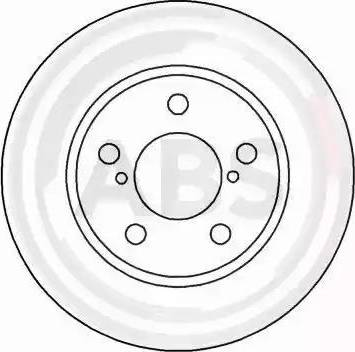 A.B.S. 16138 - Bremžu diski interparts.lv