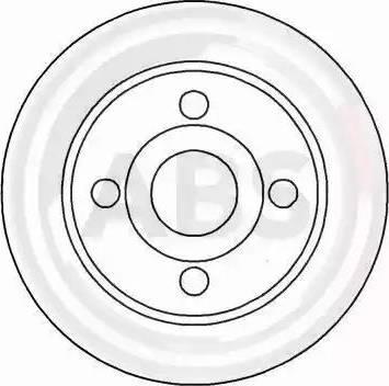 A.B.S. 16123 - Bremžu diski interparts.lv