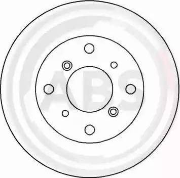 A.B.S. 16171 - Bremžu diski interparts.lv
