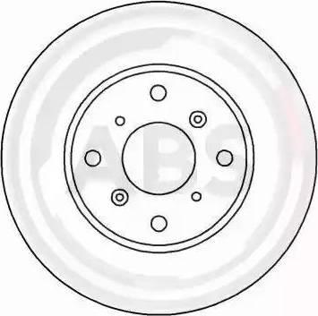 A.B.S. 16172 - Bremžu diski interparts.lv