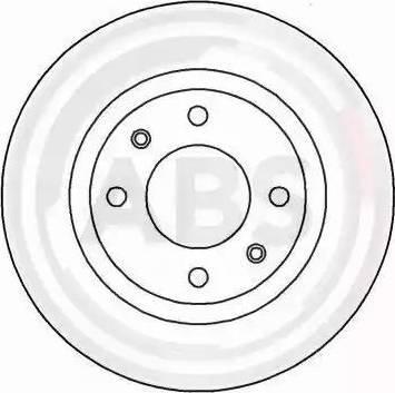 A.B.S. 16899 - Bremžu diski interparts.lv