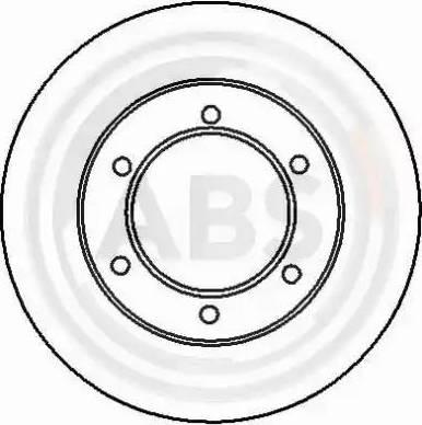 A.B.S. 16890 - Bremžu diski interparts.lv