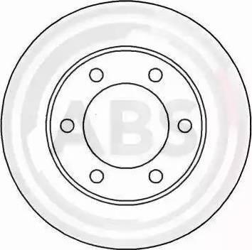 A.B.S. 16897 - Bremžu diski interparts.lv