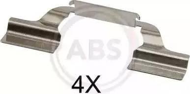 A.B.S. 1685Q - Piederumu komplekts, Disku bremžu uzlikas interparts.lv