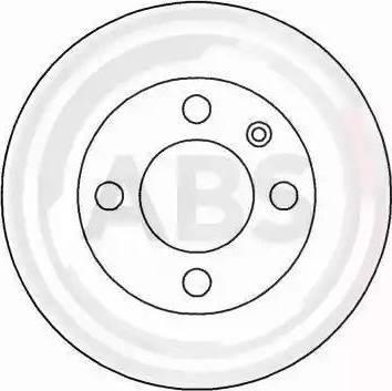 A.B.S. 16884 - Bremžu diski interparts.lv
