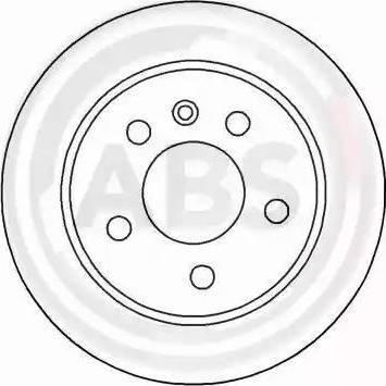 A.B.S. 16886 - Bremžu diski interparts.lv