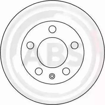 A.B.S. 16883 - Bremžu diski interparts.lv