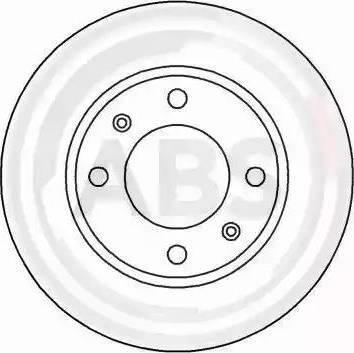 A.B.S. 16876 - Bremžu diski interparts.lv